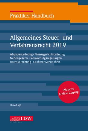 Praktiker-Hb. Allg. Steuer-u. Verfahrensrecht 2018 von Kirch,  Gregor, Schiefer,  Roland, Witt,  Christine
