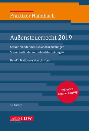 Praktiker-Hb .Außensteuerrecht 2019, 2 Bde., 43.A. von Fischer,  Sandra, Rehrmann,  Wilhelm Friedrich