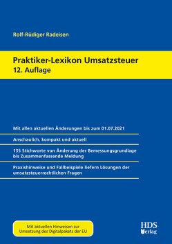 Praktiker-Lexikon Umsatzsteuer von Radeisen,  Rolf-Rüdiger