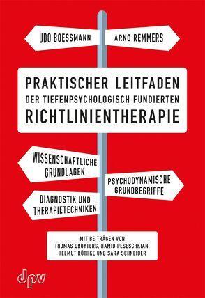 Praktischer Leitfaden der tiefenpsychologisch fundierten Richtlinientherapie von Boessmann,  Udo, Remmers,  Arno