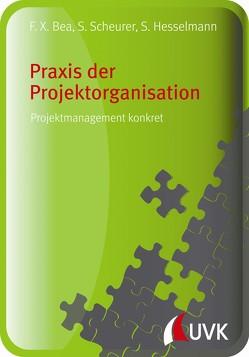 Praxis der Projektorganisation von Bea,  Franz Xaver, Hesselmann,  Sabine, Scheurer,  Steffen