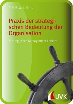 Praxis der strategischen Bedeutung der Organisation von Bea,  Franz Xaver, Haas,  Jürgen