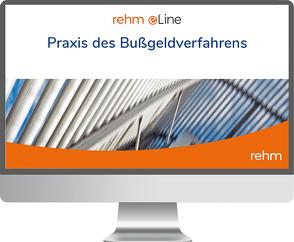 Praxis des Bußgeldverfahrens online von Wieser,  Raimund