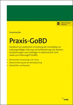 Praxis-GoBD von Teutemacher,  Tobias