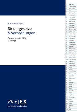 FlexLex Steuergesetze & Verordnungen von Hilber,  Klaus