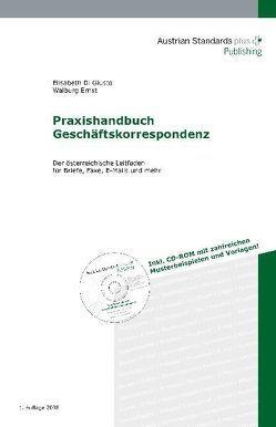 Praxishandbuch Geschäftskorrespondenz von DiGiusto,  Elisabeth, Ernst,  Walburg