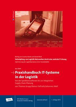 Praxishandbuch IT-Systeme in der Logistik von Krupp,  Thomas, Paffrath,  Rainer, Wolf,  Johannes