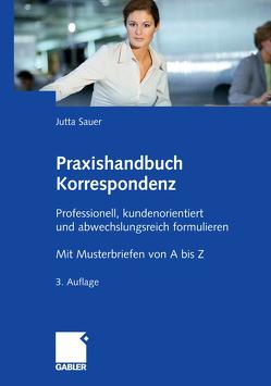 Praxishandbuch Korrespondenz von Sauer,  Jutta