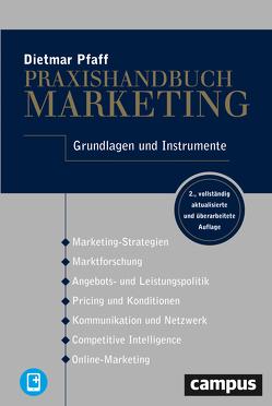 Praxishandbuch Marketing von Pfaff,  Dietmar