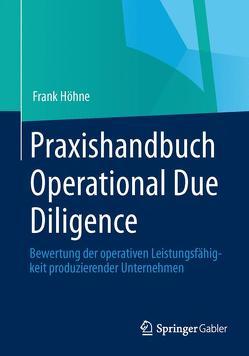 Praxishandbuch Operational Due Diligence von Höhne,  Frank