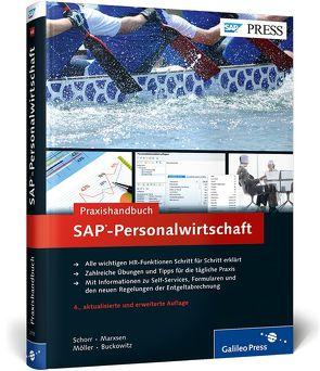 Praxishandbuch SAP-Personalwirtschaft von Buckowitz,  Christian, Marxsen,  Anja, Möller,  Sven-Olaf, Schorr,  Corinna