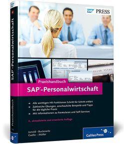 Praxishandbuch SAP-Personalwirtschaft von Buckowitz,  Christian, Cuello,  Nathalie, Marxsen,  Anja, Möller,  Sven-Olaf