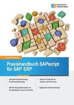 Praxishandbuch SAPscript für SAP ERP von Zollmann,  Corinna