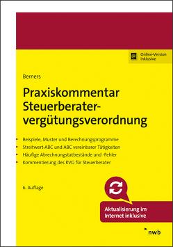 Praxiskommentar Steuerberatervergütungsverordnung von Berners,  Jürgen F., Charlier,  Rudolf, Jahn,  Olaf