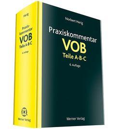 Praxiskommentar VOB Teile A, B und C von Herig,  Norbert