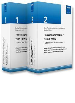 Praxiskommentar zum EnWG von Böwing,  A., Gentzsch,  A., Metzenthin,  A., Pohlmann,  M., Rosin,  P.