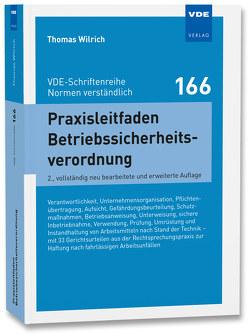 Praxisleitfaden Betriebssicherheitsverordnung von Wilrich,  Thomas