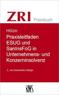 Praxisleitfaden ESUG und SanInsFog in Unternehmens- und Konzerninsolvenz von Hölzle,  Gerrit