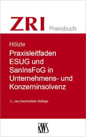 Praxisleitfaden ESUG und SanInsFog in Unternehmens- und Konzerninsolvenz von Gerrit,  Hölzle
