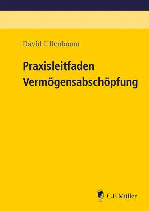 Praxisleitfaden Vermögensabschöpfung von Ullenboom,  David