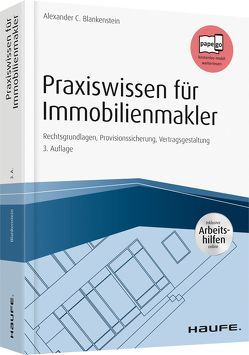 Praxiswissen für Immobilienmakler – inkl. Arbeitshilfen online von Blankenstein,  Alexander