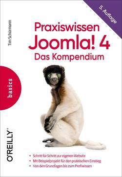 Praxiswissen Joomla! 4 von Schürmann,  Tim