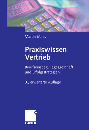 Praxiswissen Vertrieb von Maas,  Martin