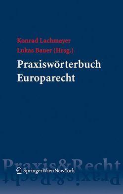 Praxiswörterbuch Europarecht von Bauer,  Lukas