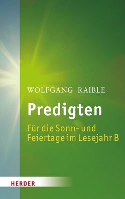 Predigten von Raible,  Wolfgang