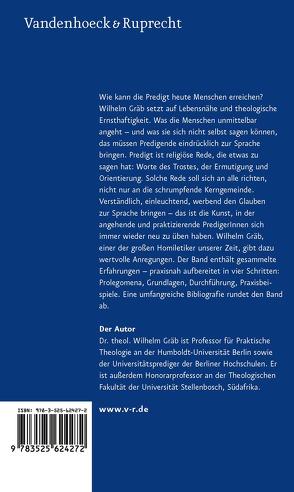 Predigtlehre von Gräb,  Wilhelm