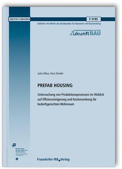 PREFAB HOUSING. von Albus,  Jutta, Drexler,  Hans