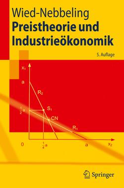 Preistheorie und Industrieökonomik von Wied-Nebbeling,  Susanne