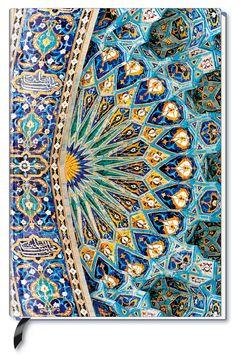 Premium Book Oriental Dome – Notizbuch – liniert – (12 x 17)