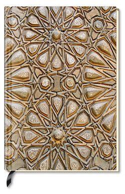 Premium Book Wooden Star – Notizbuch – liniert – (12 x 17)