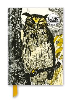 Premium Notizbuch Blank DIN A5: Grimms Märchen, Blinzelnde Eule