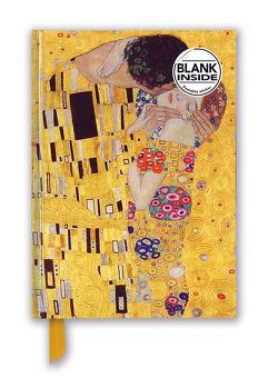Premium Notizbuch Blank DIN A5: Gustav Klimt, Der Kuss