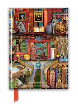 Premium Notizbuch DIN A5: Aimee Stewart, Bücherregal Museum