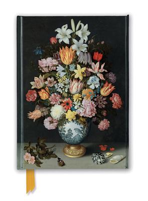Premium Notizbuch DIN A5: Bosschaert the Elder, Stillleben Blumen in Wan-Li Vase