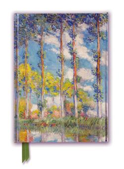 Premium Notizbuch DIN A5: Claude Monet, Pappel-Serie