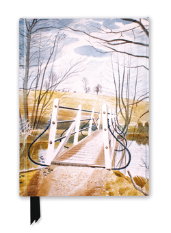 Premium Notizbuch DIN A5: Eric Ravilious, Eisenbrücke bei Ewenbridge