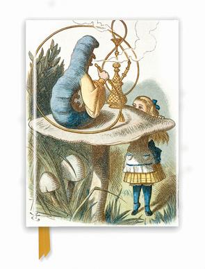 Premium Notizbuch DIN A5: John Tenniel, Alice im Wunderland (British Library)