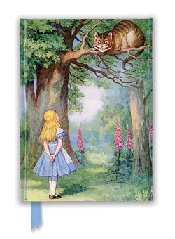 Premium Notizbuch DIN A5: John Tenniel, Alice und die Grinsekatze