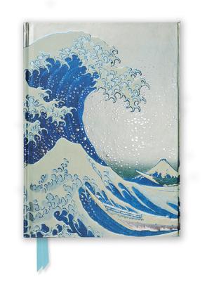 Premium Notizbuch DIN A5: Katsushika Hokusai, Die große Welle
