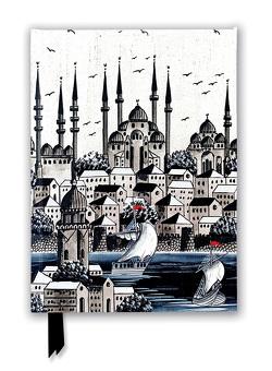 Premium Notizbuch DIN A5: Silbernes Konstantinopel