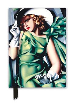 Premium Notizbuch DIN A5: Tamara de Lempicka, Junge Dame mit Handschuhen
