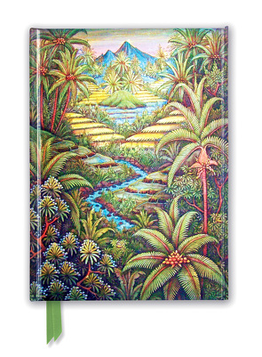 Premium Notizbuch DIN A5: Walter Spies, Balinesische Landschaft