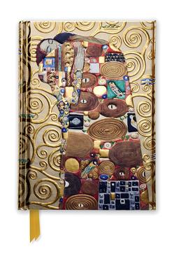 Premium Notizbuch DIN A6: Gustav Klimt, Die Erfüllung