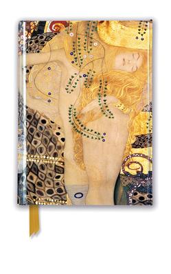 Premium Notizbuch DIN A6: Gustav Klimt, Wasserschlangen I