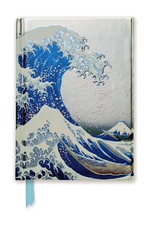 Premium Notizbuch DIN A6: Katsushika Hokusai, Die große Welle