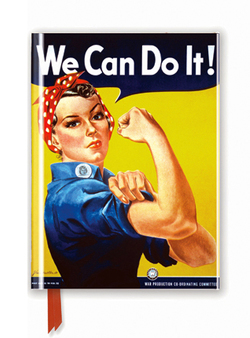Premium Notizbuch DIN A6: We Can Do It! Poster